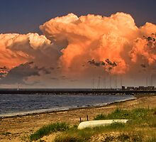 Before the storm by Delfino