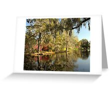 Magnolia Gardens - Charleston, SC Greeting Card