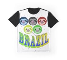 2016 brazil sloth's & mossies Graphic T-Shirt