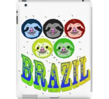 2016 brazil sloth's & mossies iPad Case/Skin