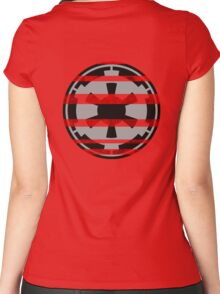 Galactic Empire Symbol Women's Fitted Scoop T-Shirt