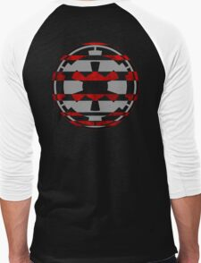 Galactic Empire Symbol Men's Baseball ¾ T-Shirt