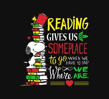 Read - Reading Gives Us Someplace To Go Unisex T-Shirt