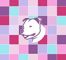 Staffbull Staffordshire Bullterrier PATCHWORK v1 by bullylove