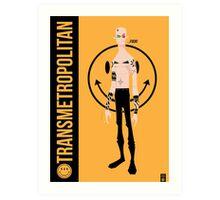 Spider Jerusalem (Transmetropolitan)  Art Print