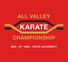 All Valley Karate Championship (aged look) One Piece - Short Sleeve