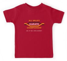 All Valley Karate Championship (aged look) Kids Tee