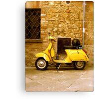italian transportation Canvas Print