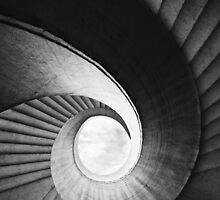 Spirals in black and white by JBlaminsky