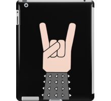 Heavy metal music horn iPad Case/Skin