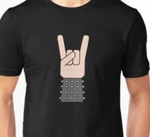 Heavy metal music horn Unisex T-Shirt