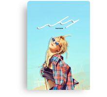 Kim Taeyeon - Why Photoshoot #1 Canvas Print