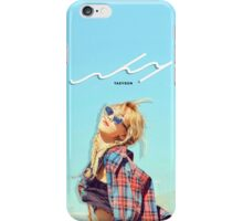 Kim Taeyeon - Why Photoshoot #1 iPhone Case/Skin