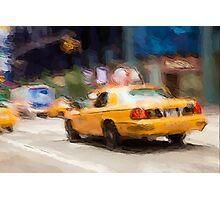 Cab Ride Photographic Print