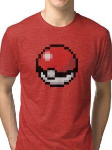 Pokemón Pokeball Tri-blend T-Shirt