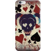Harley's game card iPhone Case/Skin