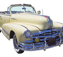 1948 Pontiac Silver Streak Convertible by KWJphotoart