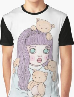 Teddy Bear Collector Graphic T-Shirt