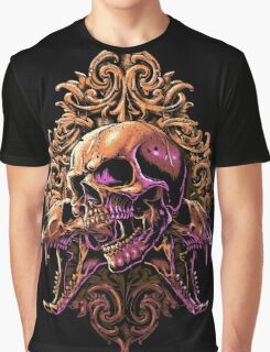 Skull Art Graphic T-Shirt