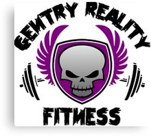 Gentry Reality Fitness Gear Canvas Print