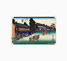 Narumi - Hiroshige Ando - 1833 Unisex T-Shirt