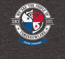 People of Tomorrowland Flags logo Badge - Panama - Panamá - panameño - Panamanian - Panameen Unisex T-Shirt