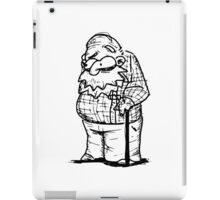 Old-man iPad Case/Skin