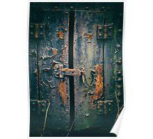 Antique Storage Lock  Poster