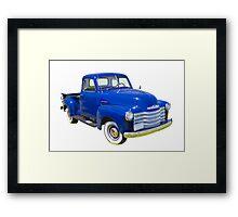 1947 Chevrolet Thriftmaster Antique Pickup Framed Print