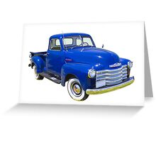 1947 Chevrolet Thriftmaster Antique Pickup Greeting Card