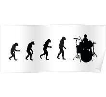 Drummer evolution Poster