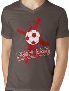 England St georges cross football Mens V-Neck T-Shirt
