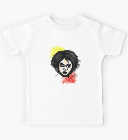 Aboriginal Boy Kids Tee