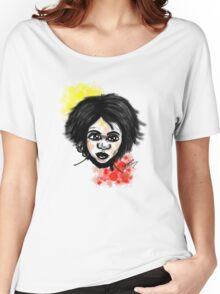 Aboriginal Boy Women's Relaxed Fit T-Shirt