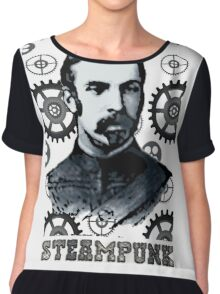 Steampunk Gent Chiffon Top