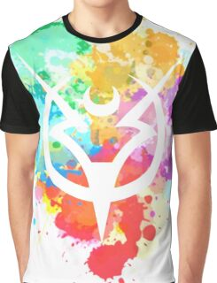 Shepard Splatter Colours Paint Graphic T-Shirt