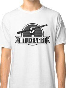 Drummer girl Classic T-Shirt