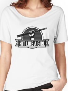 Drummer girl Women's Relaxed Fit T-Shirt