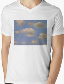 In the style of Magritte Mens V-Neck T-Shirt