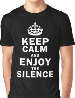 KEEP THE SILENCE Graphic T-Shirt