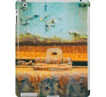 Rusted lock iPad Case/Skin