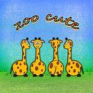 zoo cute giraffes by poupoune