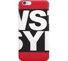 WSTSYD iPhone Case/Skin