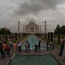 Taj Mahal in Fisheye by Christian Eccleston