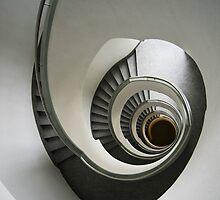 Stone Staircase by JBlaminsky