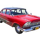 1958 Plymouth Savoy Classic Car by KWJphotoart