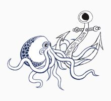 Anchor Town Octopus Sticker! by AnchorTown