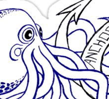 Anchor Town Octopus Sticker! Sticker