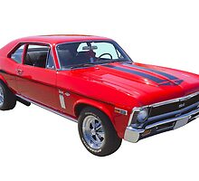 1969 Chevrolet Nova Yenko 427 Muscle Car by KWJphotoart
