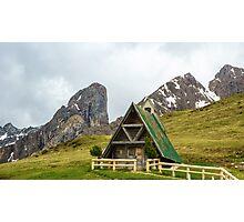Passo Giau - Dolomites Photographic Print